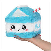 "SQUISHABLE 7"" MILK CARTON"
