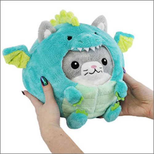 "SQUISHABLE SQUISHABLE 7"" KITTY IN DRAGON"