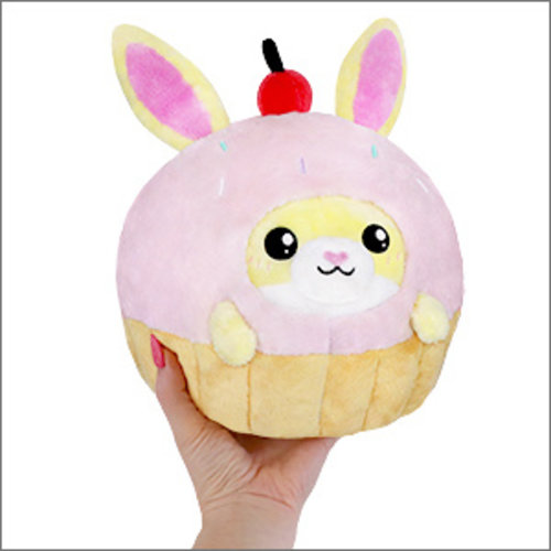 "SQUISHABLE SQUISHABLE 7"" BUNNY IN CUPCAKE"