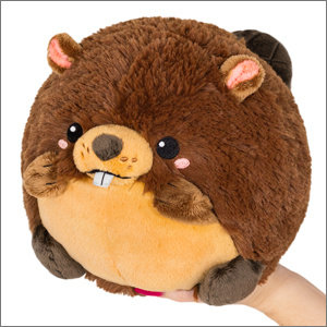 "SQUISHABLE SQUISHABLE 7"" BEAVER"
