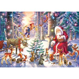 Ravensburger RV100 CHRISTMAS IN THE FOREST