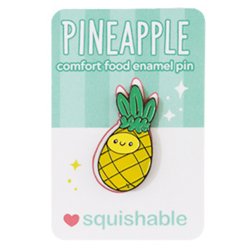 SQUISHABLE PIN: SQUISHABLE - PINEAPPLE