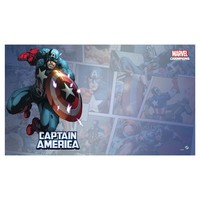 PLAYMAT: MARVEL CHAMPIONS LCG: CAPTAIN AMERICA