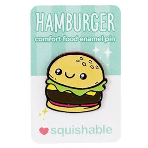 SQUISHABLE PIN: SQUISHABLE - HAMBURGER