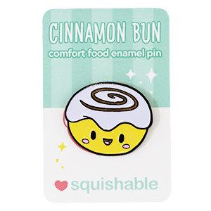 SQUISHABLE PIN: SQUISHABLE - CINNAMON BUN