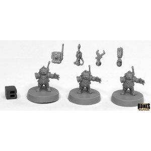 Reaper Miniatures BONES BLACK: TOOLBOTS (3)