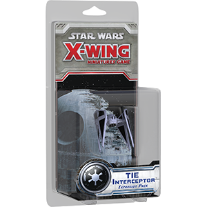 Fantasy Flight Games SW X-WING TIE INTERCEPTOR