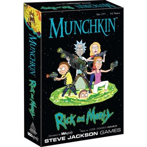The Op | usaopoly MUNCHKIN: RICK AND MORTY