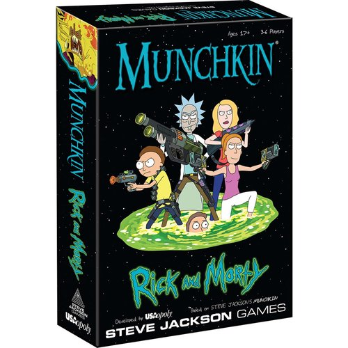 USAopoly MUNCHKIN: RICK AND MORTY