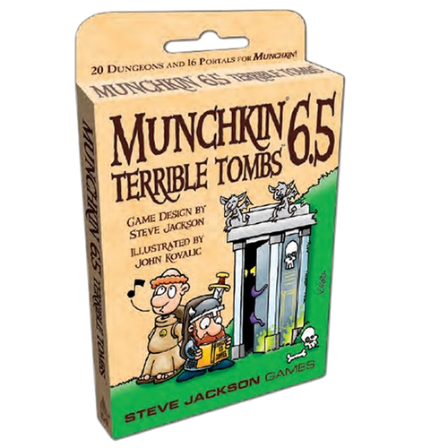 Steve Jackson Games MUNCHKIN 6.5: TERRIBLE TOMBS