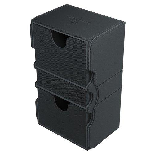 GAMEGENIC DECK BOX: STRONGHOLD 200+ BLACK