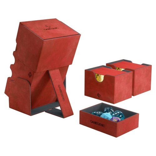 GAMEGENIC DECK BOX: STRONGHOLD 200+ RED