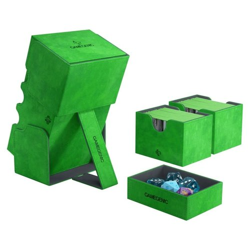 GAMEGENIC DECK BOX: STRONGHOLD 200+ GREEN
