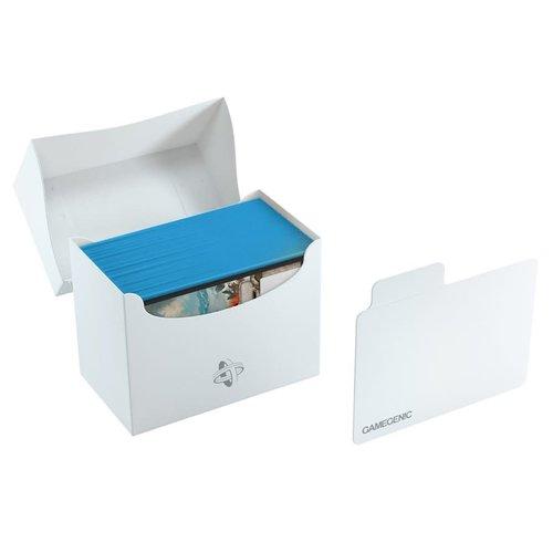 GAMEGENIC DECK BOX: SIDE HOLDER 80+ WHITE