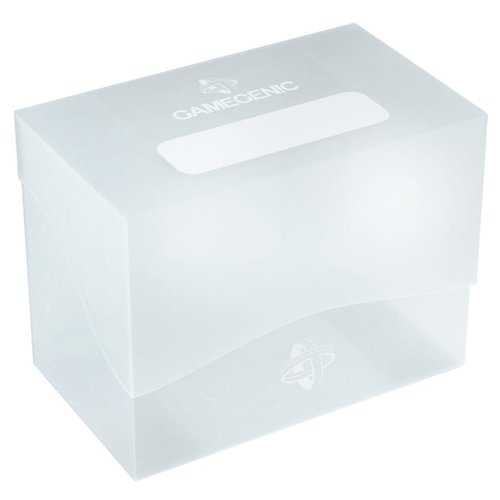 GAMEGENIC DECK BOX: SIDE HOLDER 80+ CLEAR