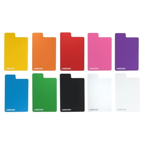 GAMEGENIC DECK BOX: FLEX CARD DIVIDERS - MULTICOLOR PACK