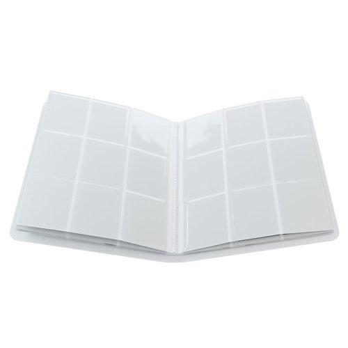 GAMEGENIC BINDER: 18 POCKET - WHITE