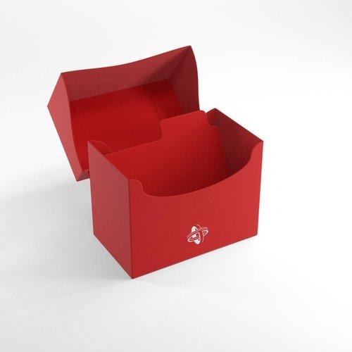 GAMEGENIC DECK BOX: SIDE HOLDER 80+ RED