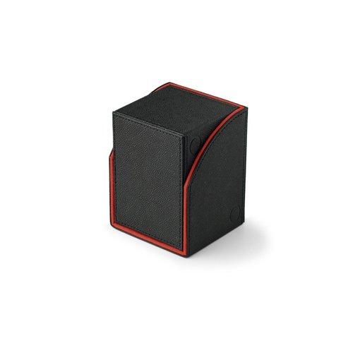Arcane Tinmen DECK BOX: DRAGON SHIELD NEST BLACK/RED
