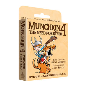 Steve Jackson Games MUNCHKIN 4: NEED FOR STEED