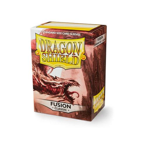 Arcane Tinmen DECK PROTECTOR: DRAGON SHIELDS: FUSION (100)