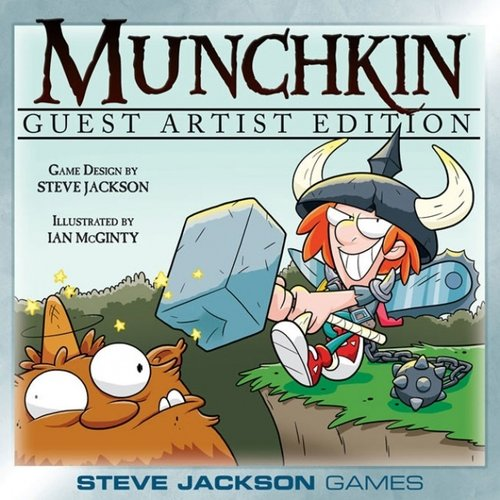 Steve Jackson Games MUNCHKIN: GUEST ARTIST DELUXE EDITION