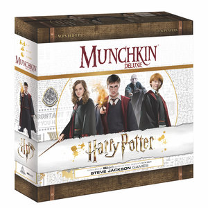 USAopoly MUNCHKIN: HARRY POTTER DELUXE