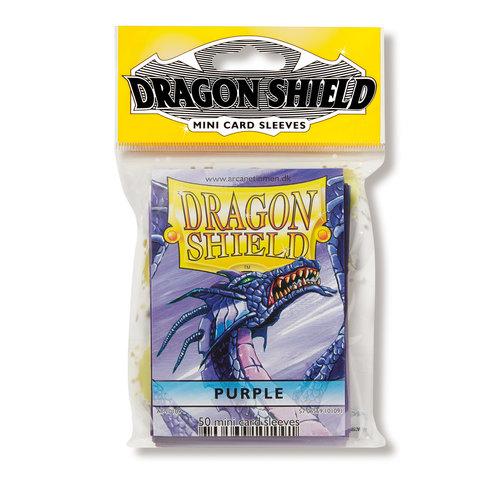 Arcane Tinmen DECK PROTECTOR: DRAGON SHIELDS: YUGIOH: PURPLE (50)