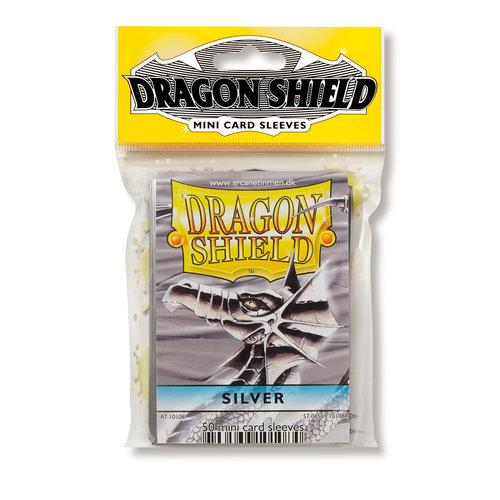 Arcane Tinmen DECK PROTECTOR: DRAGON SHIELDS: YUGIOH: SILVER (50)