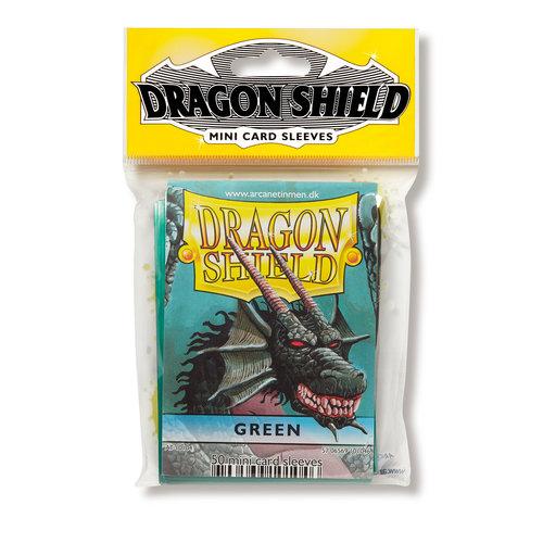 Arcane Tinmen DRAGON SHIELD: JAPANESE: GREEN (50)