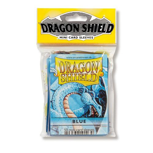 Arcane Tinmen DRAGON SHIELD: JAPANESE: BLUE (50)