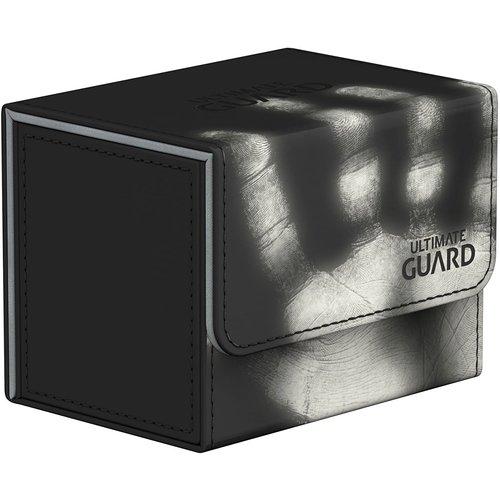 Ultimate Guard DECK BOX: SIDEWINDER 100+: CHROMIASKIN BLACK