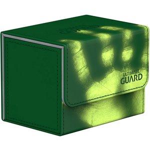 Ultimate Guard DECK BOX: SIDEWINDER 100+: CHROMIASKIN GREEN