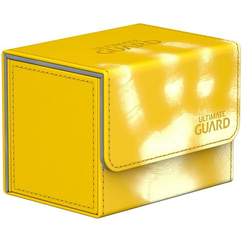 Ultimate Guard DECK BOX: SIDEWINDER 100+: CHROMIASKIN YELLOW