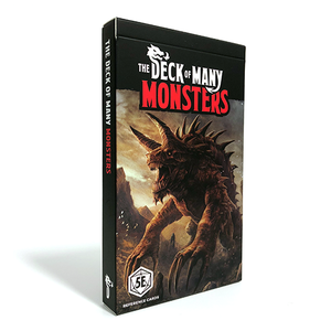 Hit Point Press THE DECK OF MANY: MONSTERS 1