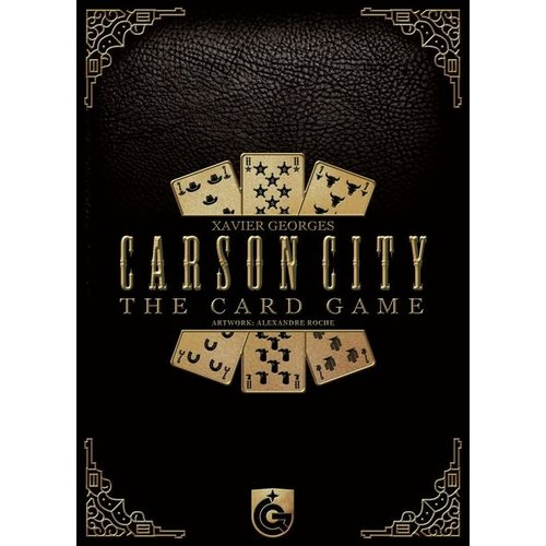 Capstone Games CARSON CITY CARD GAME