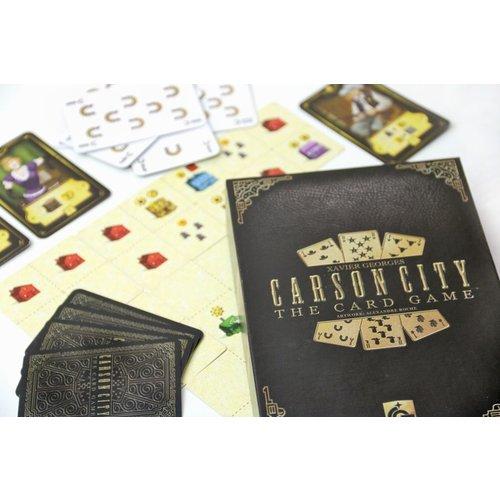Capstone Games CARSON CITY CARD GAME