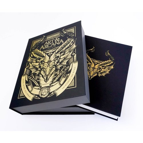 PENGUIN RANDOM HOUSE D&D: ART & ARCANA SPECIAL EDITION - SIGNED COPY