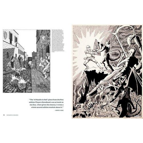 PENGUIN RANDOM HOUSE D&D: ART & ARCANA SPECIAL EDITION - SIGNED COPY
