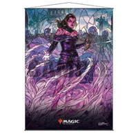 MTG: STAINED GLASS WALL SCROLL - LILIANA