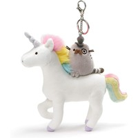 PUSHEEN FANCY & UNICORN KEYCHAIN