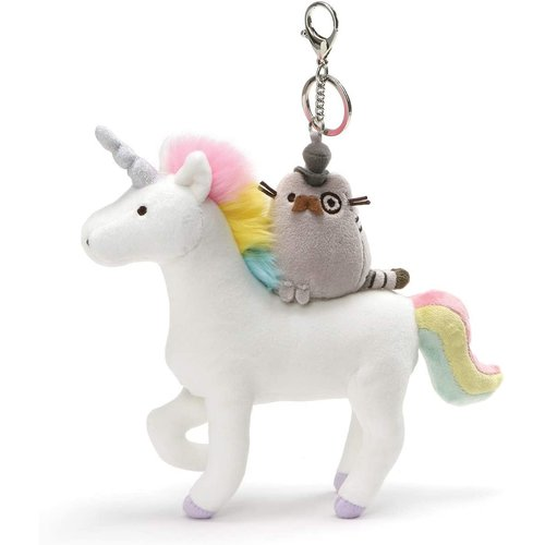 Gund PUSHEEN FANCY & UNICORN KEYCHAIN