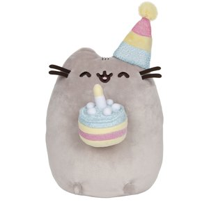 Gund PUSHEEN BIRTHDAY CAKE 9.5""