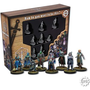 Steam Forged Games MINIS: D&D: CRITICAL ROLE - THE MIGHTY NEIN