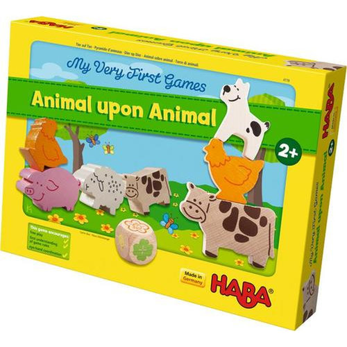 HABA USA MY VERY FIRST GAME: ANIMAL UPON ANIMAL