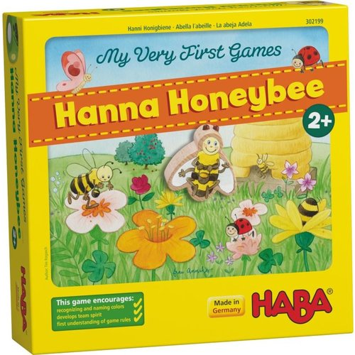 HABA USA MY VERY FIRST GAME: HANNA HONEYBEE