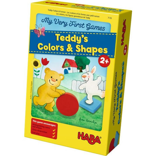 HABA USA MY VERY FIRST GAME: TEDDY'S COLORS & SHAPES