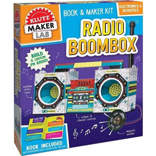 KLUTZ KLUTZ STEM RADIO BOOMBOX