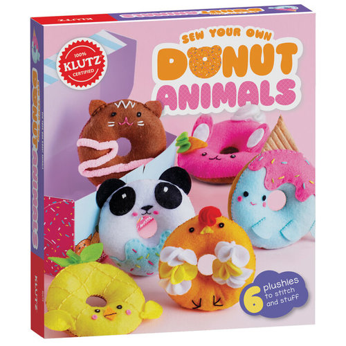KLUTZ KLUTZ SEW YOUR OWN DONUT ANIMALS