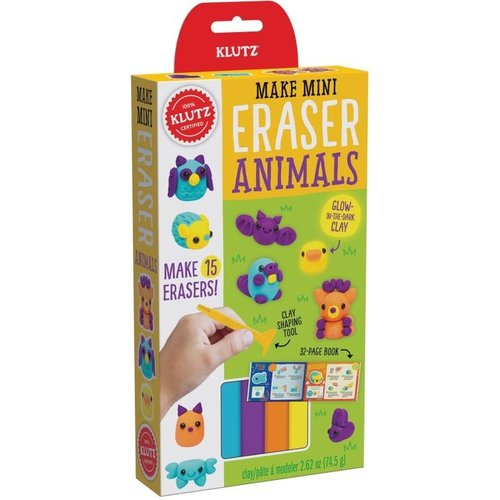 KLUTZ KLUTZ MINI ERASER ANIMALS